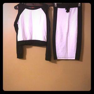 Bongo skirt set. Never worn.